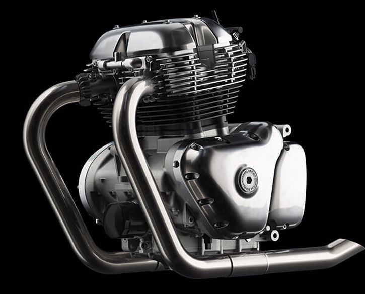 Royal Enfield 650cc engine