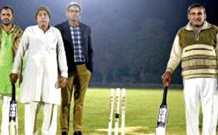 Farmers Playing Cricket