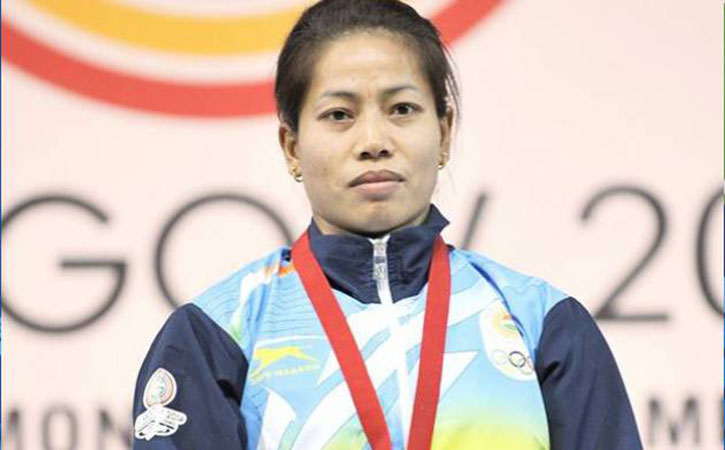 gold medal at the World Weightlifting Championship in Anaheim