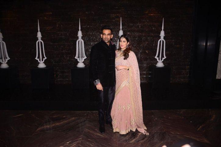 Zaheer Khan and Sagarika Ghatge wedding reception