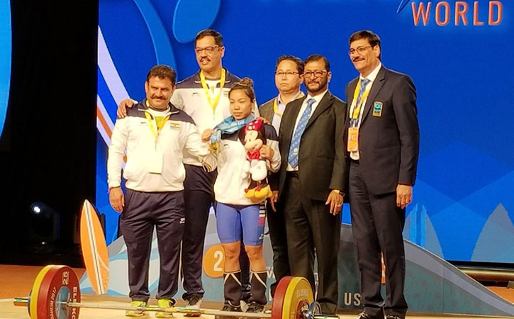 Mirabai Chanu became the first Indian in over two decades to win a gold medal