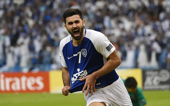 Omar Khrbin became the first player from Syria to be crowned Asia's Player