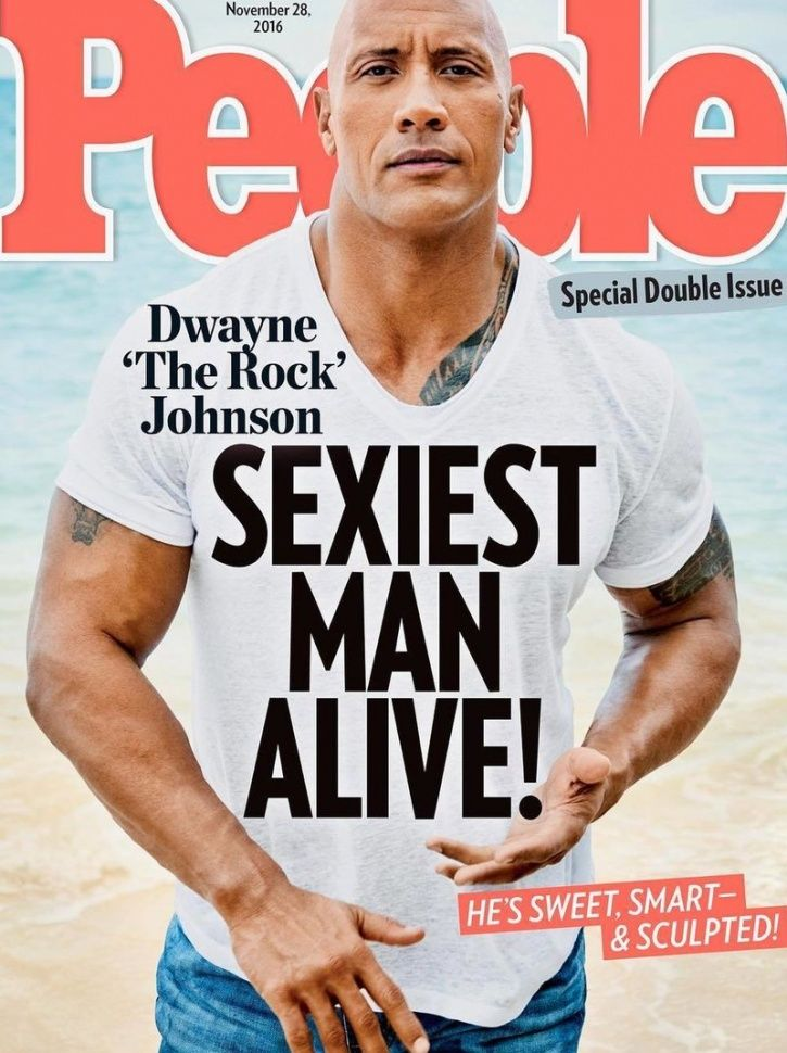 The 2016 People's Magazine 'Sexiest Man Alive', Dwayne Johson A.K.A The Rock, reveals the secret to herculean physique and 'rock' hard muscles.  He carries with him, what he calls his 'iron paradise'!, which includes 40,000 pounds of weightlifting equipment to all his film shoots.