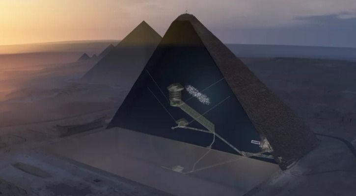 Images courtesy: ScanPyramids