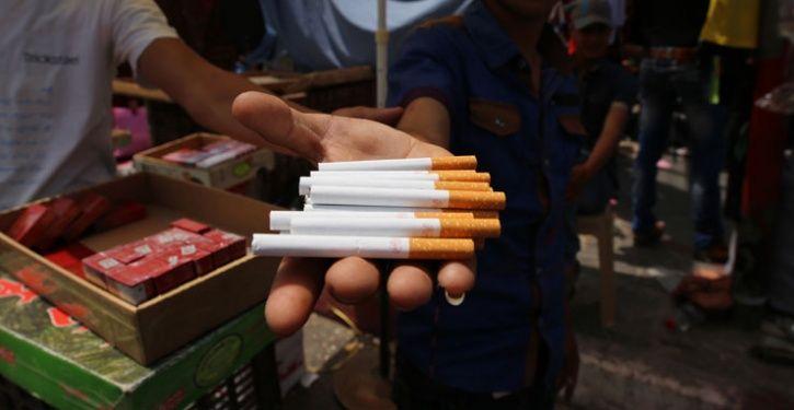 Selling Cigarettes