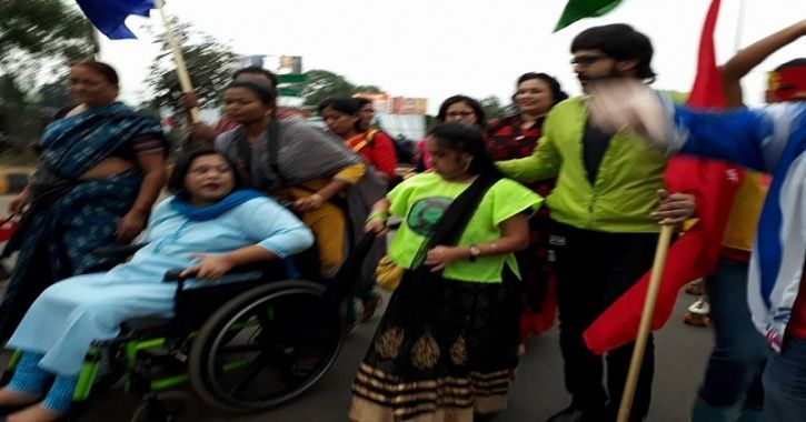 sruti mohapatra is on wheel chair but is helping disabled kids