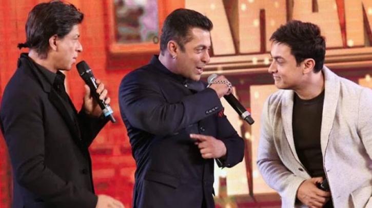 SRK, Aamir,