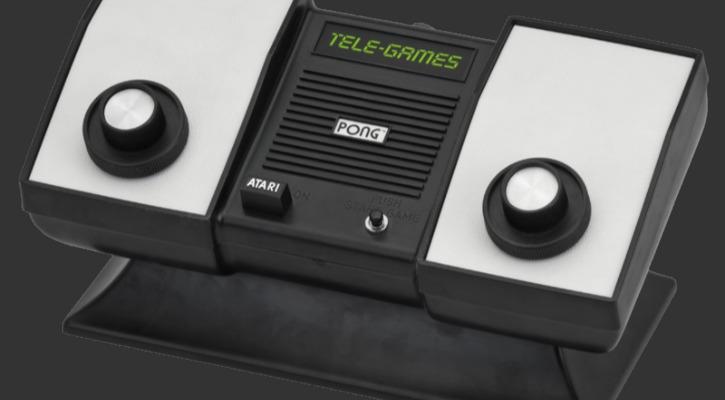 The Atari home Pong console