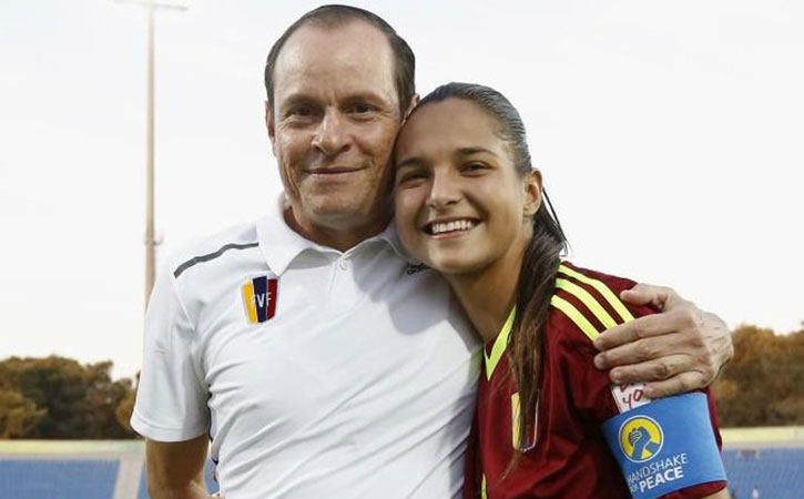 The coach of Venezuela's under-20 women's national soccer team has been fired