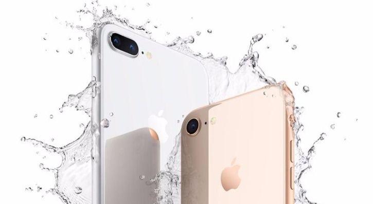 iPhone 8 & 8 Plus water resistant