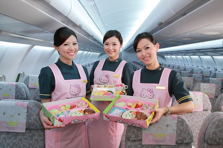 A Hello Kitty themed airline