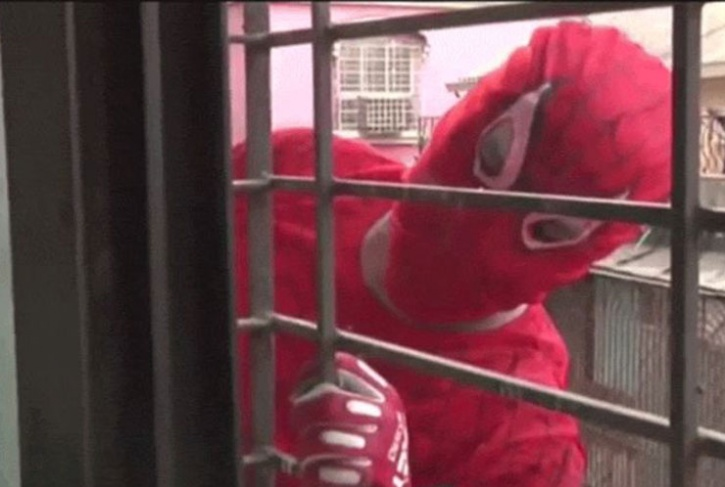 Spiderman Booked For Rape