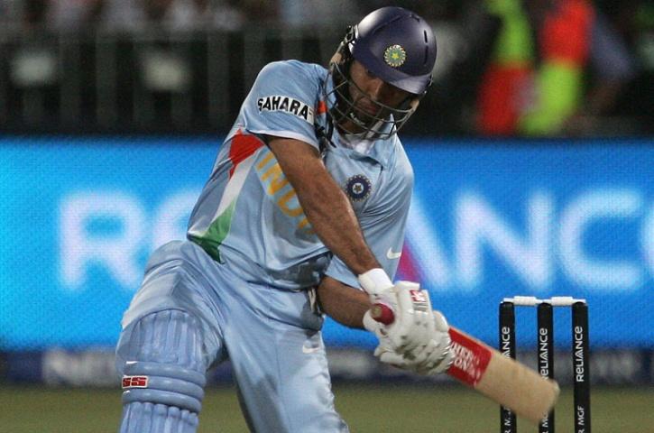 Yuvraj Singh six sixs