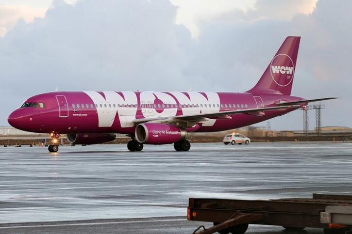 Giant pink plane called 'GAY'