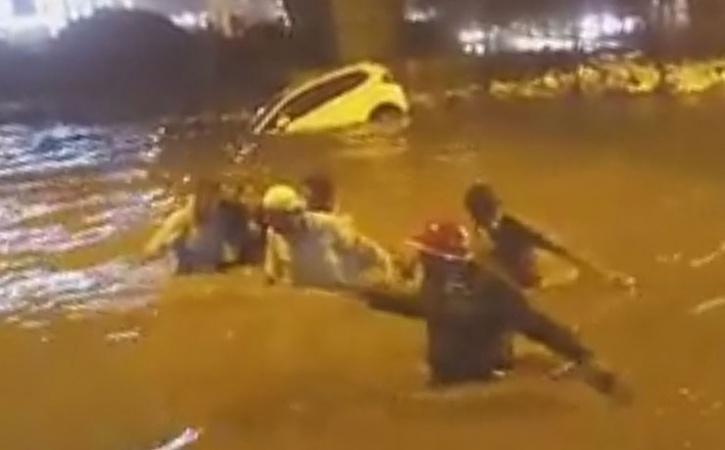 Bengaluru rain fall