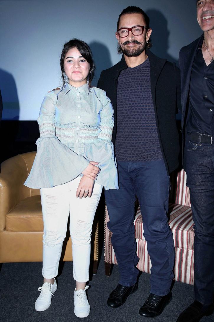 Aamir and Zaira