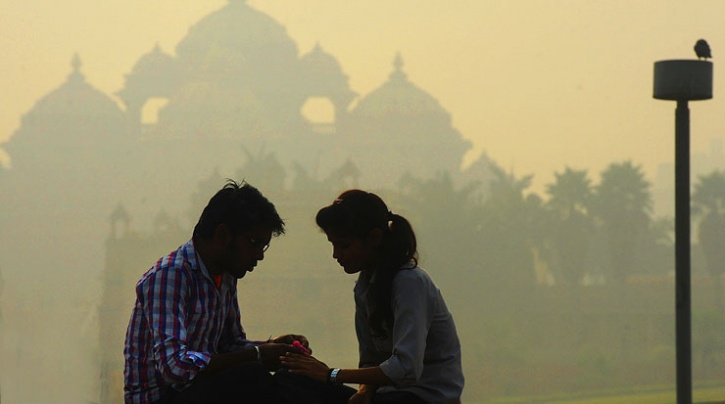 new delhi air quality