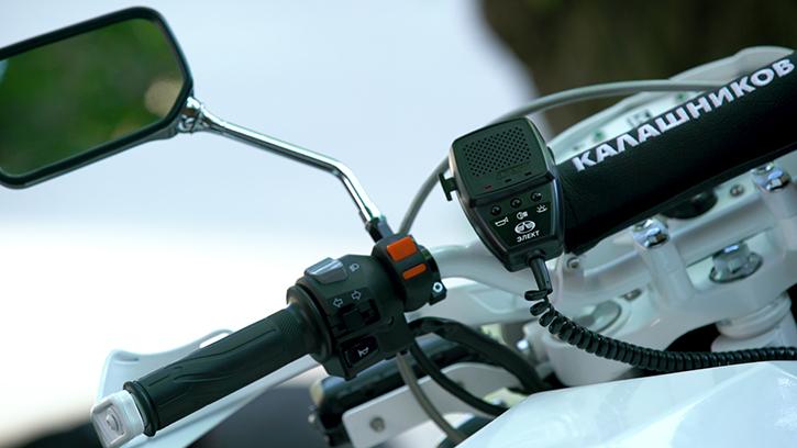 Kalashnikov electric motorcycle