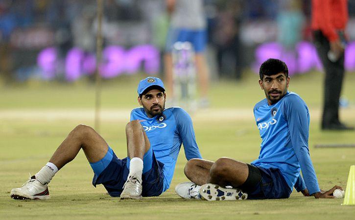 Jasprit Bumrah And Bhuvneshwar Kumar