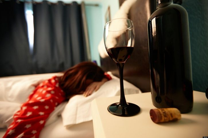 Although alcohol can put you to sleep it is very disruptive for your consciousness  Alcohol has earned its reputation as a sedative drug over the years. But all you're really doing is knocking yourself out. Alcohol removes the consciousness rather quickly, disallowing you getting naturalistic sleep.   It fragments your sleep, increase the number of times you awaken at night, but keeps it short enough for you not to remember them; keeping you unaware of the poor quality of your sleep. It also blocks your REM or deep sleep, which is critical for your mental health and emotional restitution. As a misunderstood drug, it is not very helpful when it comes to sleep.