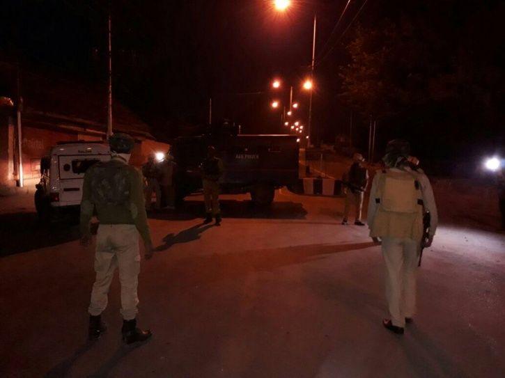 BSF camp near Srinagar airport
