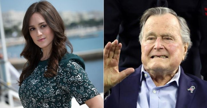 Ex-US President George H W Bush Sexual Assault