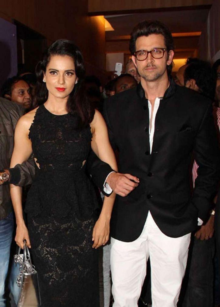 Kangana and Hrithik