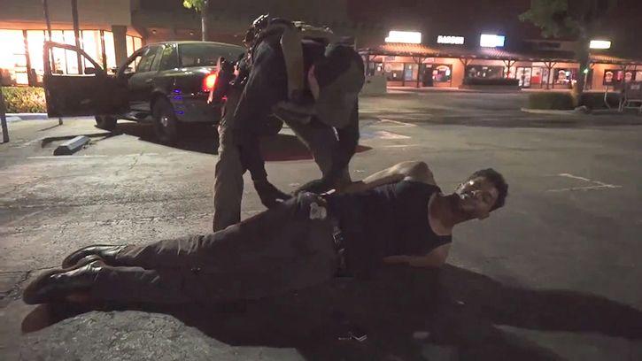Funny man arrested