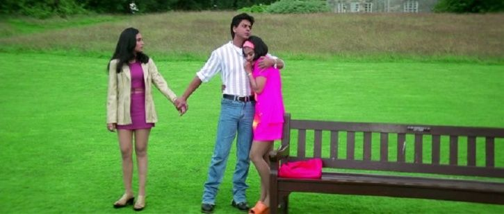 SRK, Rani and Kajol