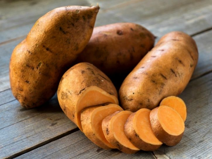 Potatoes Although potatoes have earned a bad rap due to their high starch content and glycemic index they are loaded with potassium, magnesium, folic acid, vitamin C and protein. As an inexpensive and accessible vegetable it makes sense to eat them in moderation to ward excess starch. An even more healthier option, if you have access to them, are sweet potatoes, as they contain up to 65 per cent of the minimum necessary amount of vitamin C and a low glycemic index of 17.
