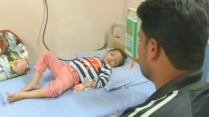 The only known treatments so far are the ones that have been administered The Italian woman had been treated with propranolol and a beta-blocker, while the three-year girl from Hyderabad, unsurprisingly, required multiple transfusions and recurrent admissions.