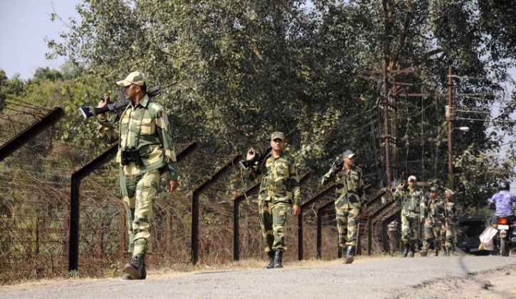 Indian Border With Bangladesh