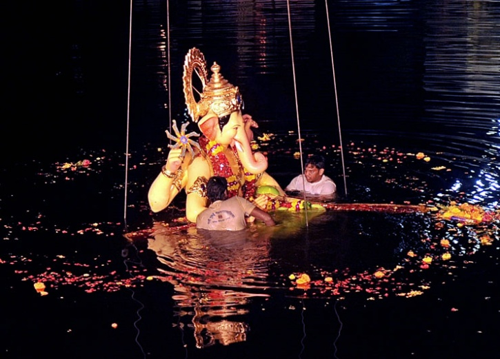 Immersion Of Ganesh