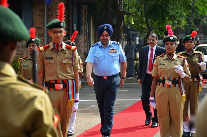 Air Chief Marshal B S Dhanoa