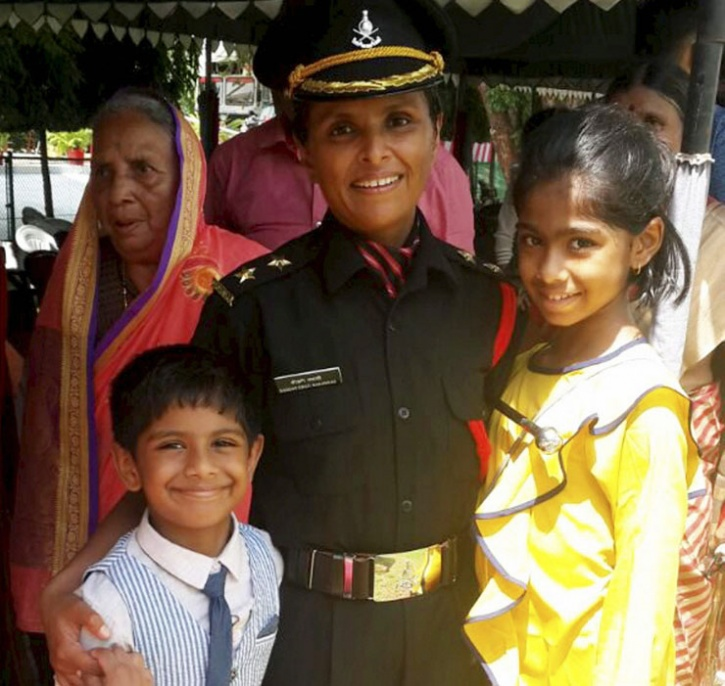 Lt Swati Mahadik & Lt Nidhi Misra