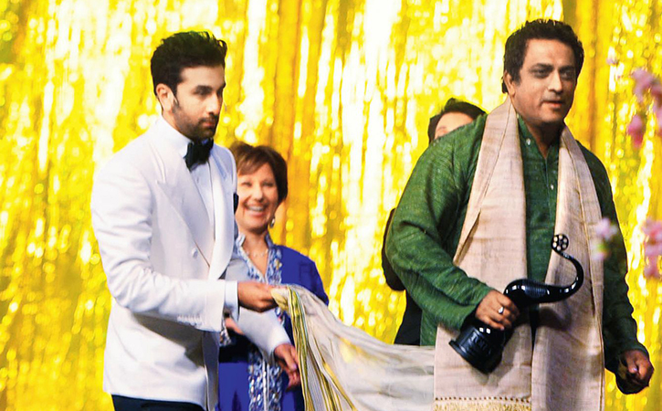 Anurag Basu and Ranbir Kapoor