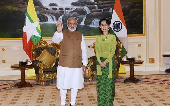 Modi and Aung San