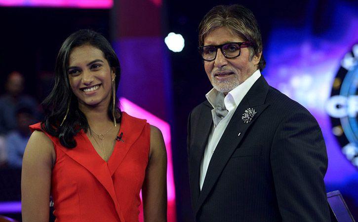 PV Sindhu and Amitabh Bachchan