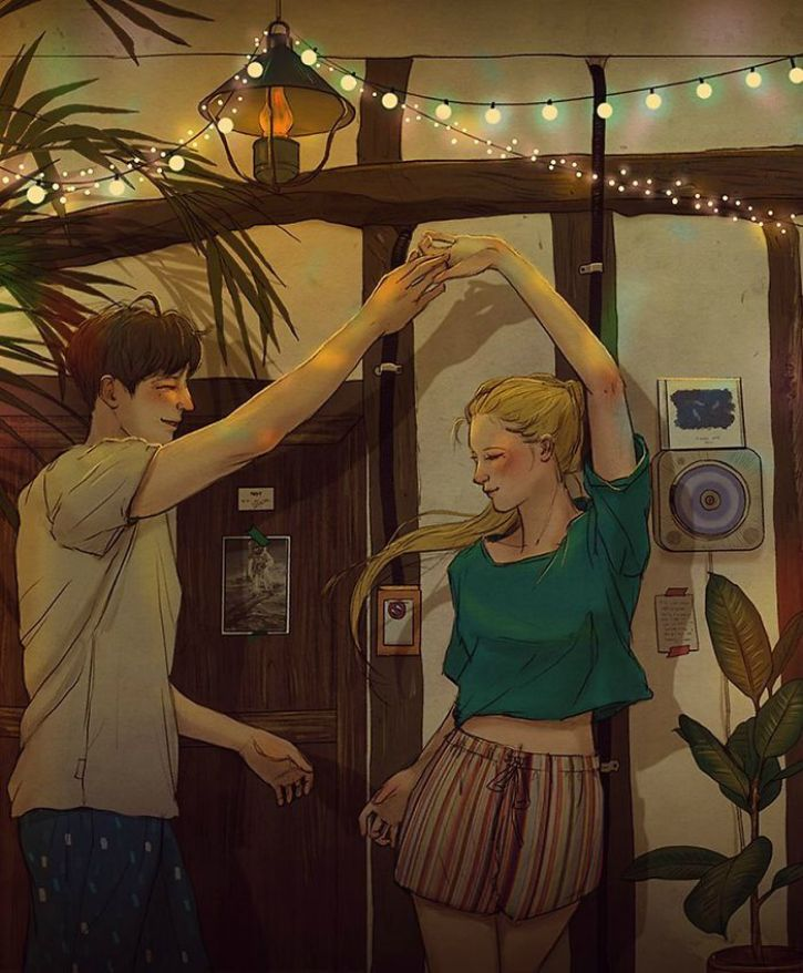 # 5. All you need is each other to dance through the night