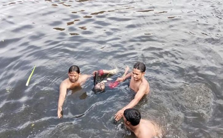 Rescue operation at gazipur