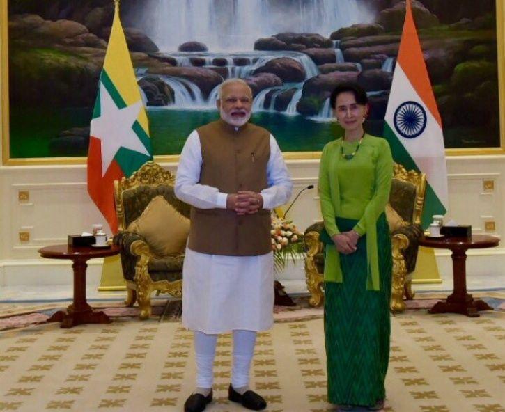 Modi in Myanmar