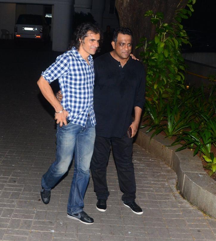 Imtiaz and Anurag Basu