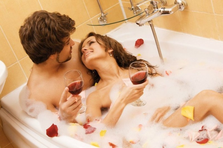 Create a sexually charged environment  Use candles, soft bedding, wine, essential oils and whatever else you can think of to arouse your senses. Experiment with techniques like aromatherapy if that helps and visualise sex as a sacred activity.