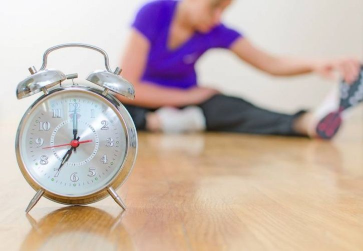 Increase your physical activity levels at the right time  Some people swear by early morning runs and others by evening workout sessions. Exercising at a particular time helps you fall asleep at a set time without making toss and turn too much. Just make sure you plan your activity several hours before you plan to hit the sack, to get unperturbed sleep.