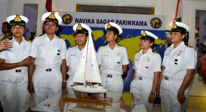 All-women naval crew