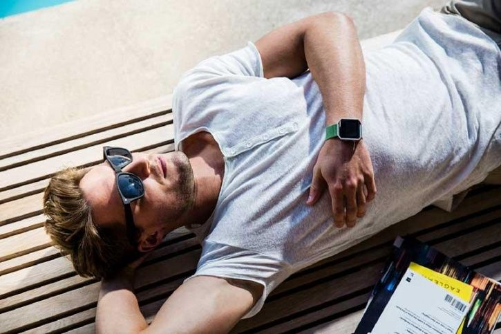 The algorithm can even track sedentary activity, for instance whether you are sitting or lying down.
