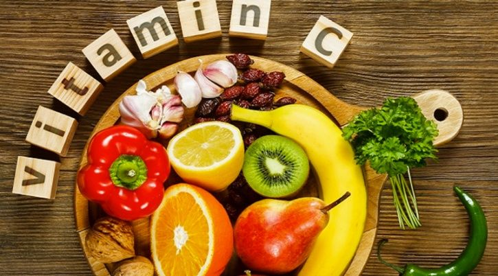 Vitamin C Vitamin C can be found in abundance in foods like oranges, tomatoes, red pepper, broccoli etc. As a potent anti-oxidant it can also help in the prevention of a loss of vision and macular degeneration.