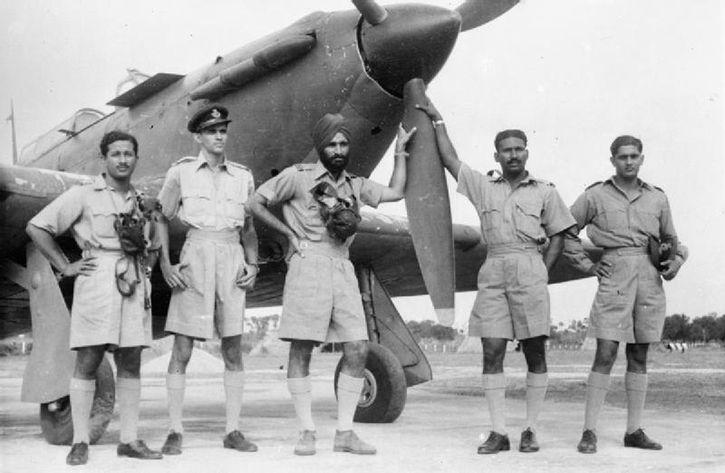 Arjan Singh in WW II