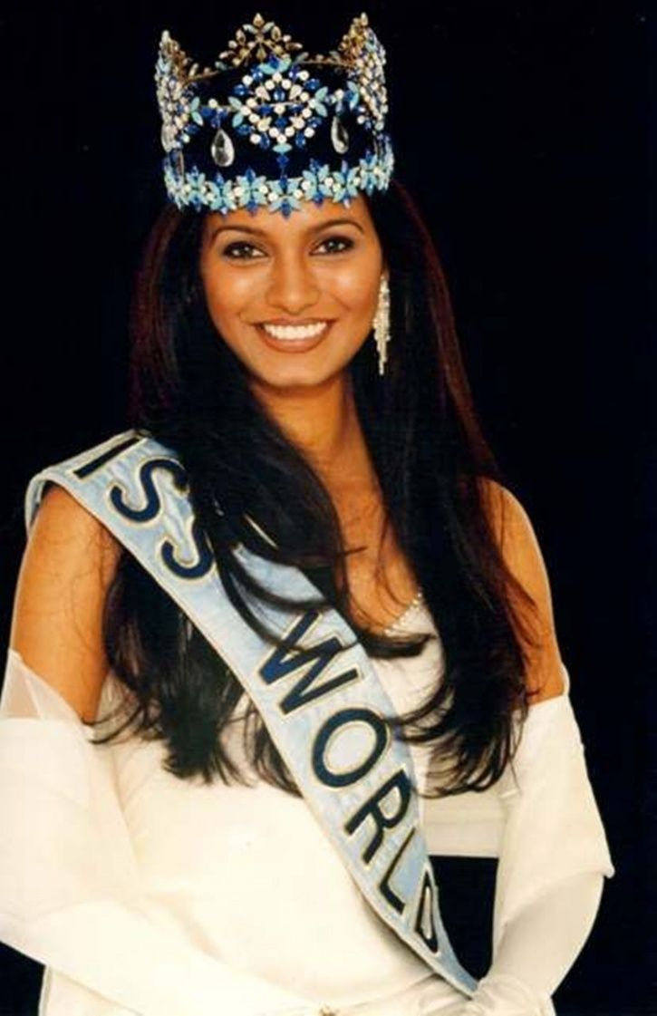 A picture of 1997 Miss World Diana Hayden.