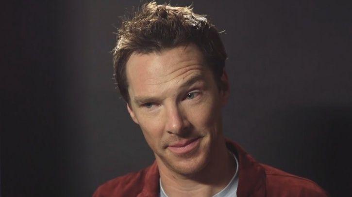 A picture of Benedict Cumberbatch.